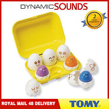 TOMY 1581 Hide N Squeak Eggs Play to Learn Baby Toddler Toy Hide and Squeak