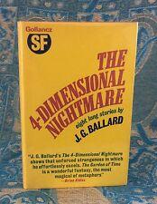 J G Ballard - The Four Dimensional Nightmare - 1st Thus - Hbk dw  1974 - Rare