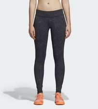 adidas womens yoga print tights size S RRP £50