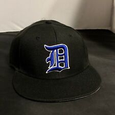 Duke University Blue Devils NCAA The Game Pro Fitted Hat Cap NEW Sz 7 1/8