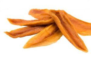 Pure Ceylon Certified Organic Dehydrated Mango Fruit Strips Dried Natural
