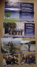 Q184 - 8x Aushangfotos SAINT JACQUES Pilgern auf Französisch