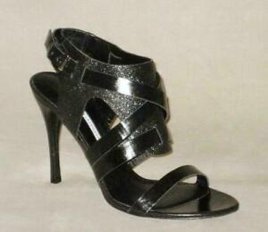 NEW Vera Wang Lavander GARMIN Leather Stilleto Sandal ITALY Women 9 40 MSRP$325