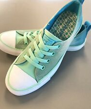 cdd205a83de6de Unisex Converse All Star Low Top Blue   Green Shoes M-6   W-