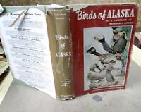 BIRDS Of ALASKA,1959,Ira N. Gabrielson & Frederick C. Lincoln,Illust,DJ