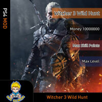Witcher 3: Wild Hunt(PS4 Mod)- Max Money/Level/Skill points