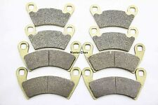 Front Rear Brake Pads For 2010 2011 Polaris 800 Ranger RZR-4  Crew HD 6x6 XP SET