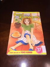 Boys Over Flowers Vol 27 Yoko Kamio Manga Viz Media GC English Version