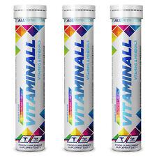 3x Vitaminall 20 Brausetabletten Multivitamin Mineralstoffe Magnesium Vitamin C
