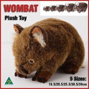 Wombat Australian Animals Soft Plush Toy Stuffed Kids Australian Gift Souvenir
