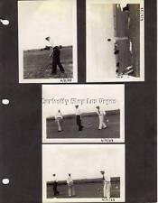 1930s Vintage 5 Photo Lot Golf Course Golfers Photograph