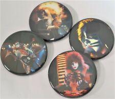 "Kiss,""Alive 2 Era"" Lot of (4) ,Round Big,Cool1.75"" Button Pin Back pin-16,L@K"