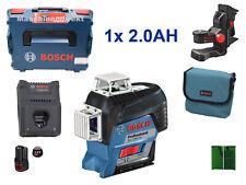 Bosch Professional Linienlaser GLL 3-80 CG Grün + 2x.0Ah Akku + GAL 12V-40