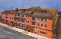 San Francisco California~Plantation Inn Motel~3100 Webster Street~1950s Postcard