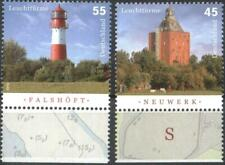 Mint stamps  Lighthouses  2010 from Germany avdpz