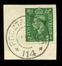 Pre-Decimal George VI (1936-1952) Era Single European Stamps