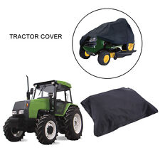 """Deluxe Riding Lawn Mower Tractor Cover Yard Garden Fits Decks up to 54"""" BLACK E"""