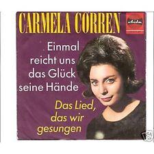 CARMELA CORREN - Einmal reicht uns das Glück seine ...