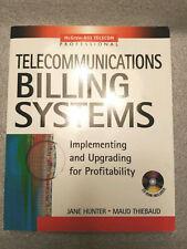 New! Telecommunications Billing Systems: Thiebaud, Hunter + CD ISBN 0071408576