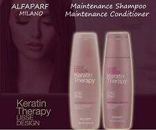 ALFAPARF MILANO Keratin Therapy  Lisse Desing  Maintenance Shampoo Conditioner