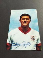 Hans Rigotti (fc bayern munich) signed autógrafo photo 10x15