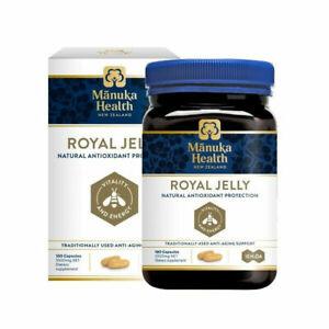New Zealand Royal Jelly - Manuka Health - 180 Capsules - Free Shipping
