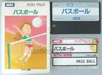 "MSX ROM""PASS BALL""ASCII BOXED JAPAN"