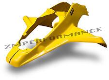 NEW SUZUKI LT500 QUADRACER YELLOW PLASTIC FRONT FENDER LTR500 LT500R