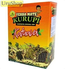 Y157 YERBA MATE KURUPI ENERGY BLEND WITH KATUAVA PREMIUM TEA
