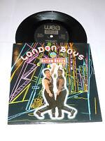 "LONDON BOYS - Harlem Desire - 1989 UK 7"" Black Label Vinyl Single"