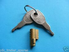 *FREE P+P* Daxara Trailer Security Anti-Theft Security Coupling Hitch Lock