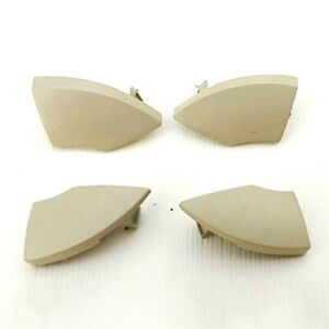4pcs /set Beige For Fiat 500 Radio Cd Button Trim Mold Cover Removal
