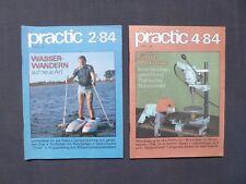 DDR Zeitschrift Practic Jahrgang 1984, Nr.2 und 4, Modellbau und Basteln, FDJ