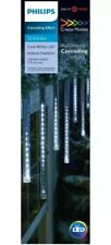 Philips 12ct Christmas LED Cascading Icicle String Lights Cool White
