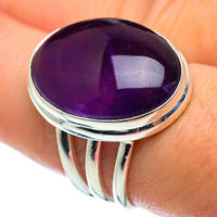 Amethyst 925 Sterling Silver Ring Size 8.25 Ana Co Jewelry R48822F