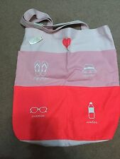 NEW Victorias Secret Pink Weekender Tote Bag With Front Pockets