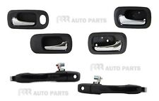 Honda CRV RD 01-07 Front Outer Front and Rear Inner Door Handle NEW- 6 Handles