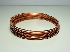 Filo Rame matassa 0,5 / 1 / 1,5 / 2 / 2,5 / 3 / 4 mm DIY Hobby Soft Copper wire