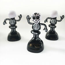 Solar Power shaking the head Marrie Skeleton Car Accessory Decoration/ ornaments