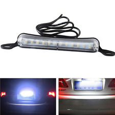 6000K Xenon White 12-SMD LED Bolt-On Car Truck License Plate Light DRL Lamp US