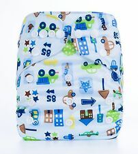 Baby Cloth Diaper Reusable Washable Pocket Nappy R01