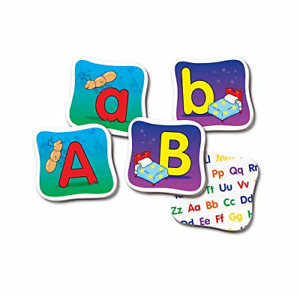 The Learning Journey: Match It! Memory - Alphabet - Capital and Lowercase Letter
