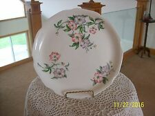 Fruit Blossom Floral Spray Porcelain Decorative Vintage Plate