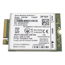 GENUINE Sierra AirPrime EM7455 DW5811e Qualcomm WWAN NGFF Card 3P10Y for Dell