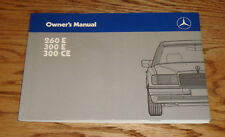 Original 1989 Mercedes Benz 260E 300E 300CE Owners Operators Manual 89