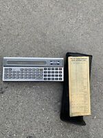 Radio Shack TRS-80 PC-1 Pocket Hand-held Computers vintage calculator
