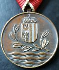 ✚7802✚ Upper Austrian Commemorative Medal 1954 Flood Intervention post WW2 award