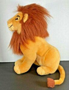 "Vintage 90s Adult Simba Lion King Disney Applause 18"" Stuffed animal Plush"