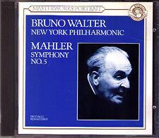Bruno Walter: MAHLER SYMPHONY NO. 5 New York Philharmonic 1947 CBS CD Filarmonica