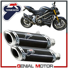 Ducati Street Fighter 848 2015 15 Auspuff Termignoni Exhausts Kohlenstoff
